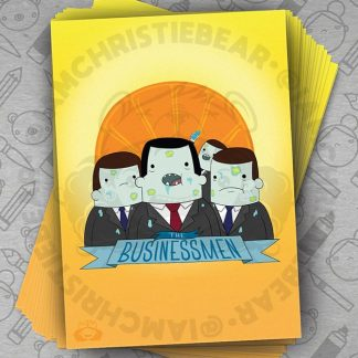 Adventure Time Business Men Illustration Print By ChristieBear
