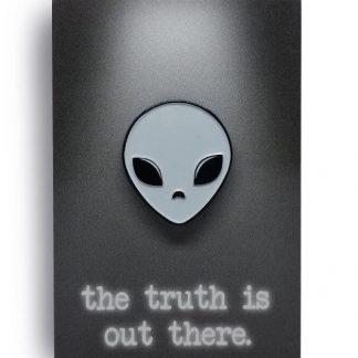 Aliem Not an Alien Original Edition Soft Enamel Pin by ChristieBear