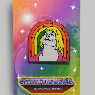 HeMan Four Fabulous Non Blonde Men Edition Hard Enamel Pin by ChristieBear
