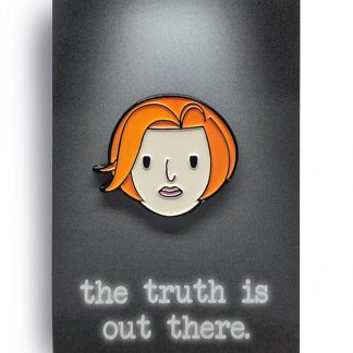Mully Not Scully Original Edition Soft Enamel Pin by ChristieBear 1