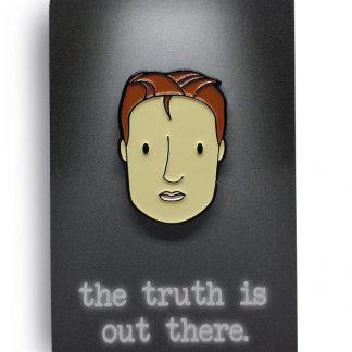 Sculder Not Mulder Original Edition Soft Enamel Pin by ChristieBear 1