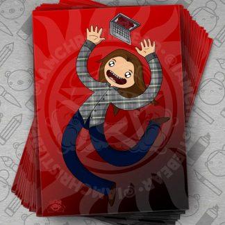 Supernatural Sam Wishing Upon A Demon Love Print By ChristieBear