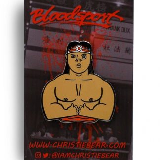 Bloodsport Chong Li Break You Edition Hard Enamel Pin by ChristieBear