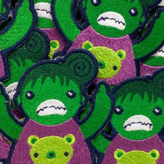 Eff You She Hulk Group Shot Angry Iron On Patch by ChristieBear